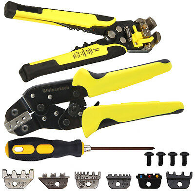4 In 1 Wire Crimpers Ratcheting Terminal Crimping Pliers Cord End Terminals Tool 3