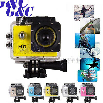 Waterproof SJ4000 HD480P Ultra Sports Action Camera DVR Helmet Cam Camcorder 2