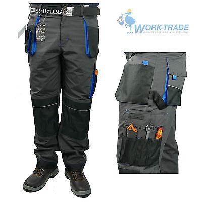 Arbeitshose Bundhose Arbeitskleidung Hose Herren Grau Schwarz Blau Gr. 46-62 9