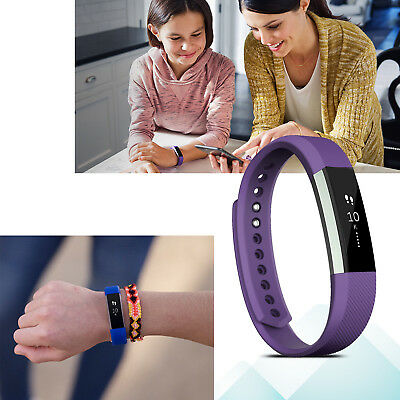 Replacement Silicone Gel Band Strap Bracelet Wristband for FITBIT ACE Children 2