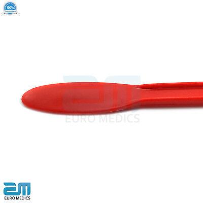 Plastic Red Mixing Spatula Modelling Restorative Surgical Material Alginate Tool