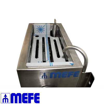 Butcher Shop Knife Sterilizer Automatic - Wall Mounted Stainless Steel(CAT 6801) 4