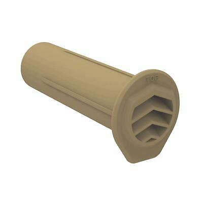 25 x Buff Drill Weep Vents Round Vent system Cavity Retaining Walls Wall 2