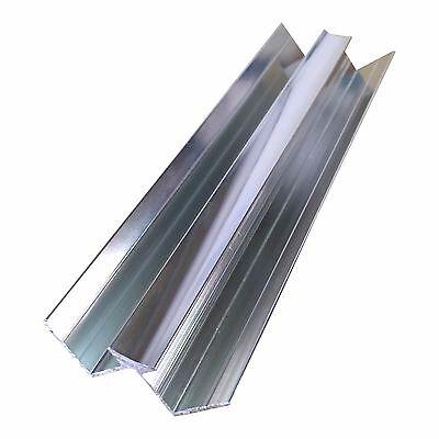Aluminium Trims For 10mm Shower Wall Panels Bathroom End Cap Corners H Join 2.4m 5