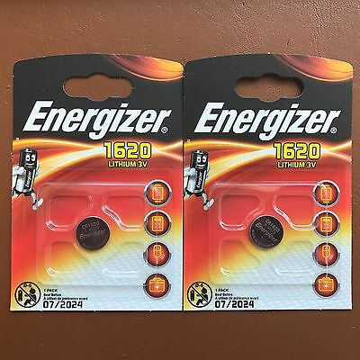 NEW Energizer 1620 CR1620 3V Lithium Coin Cell Battery - DL1620 KCR1620 BR1620 2