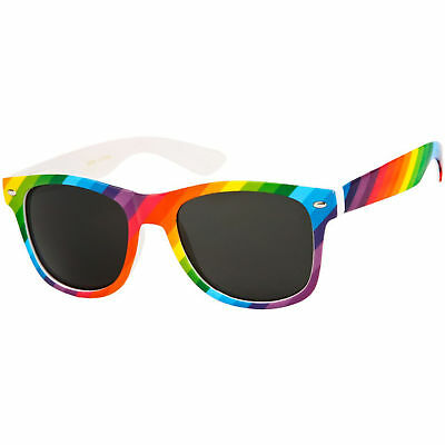Gay Pride Rainbow LGBT Festival Headband Wristband Rainbow Glasses Party Set