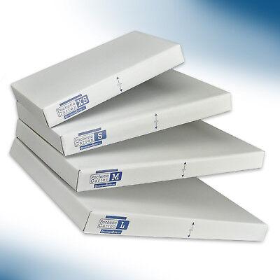 Boîtes pochettes carton petite hauteur 3cm - formats au choix - lots de 5 à 1000 3
