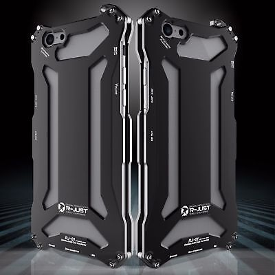 For iPhone 5s SE 6s 7 Plus Luxury Shockproof Aluminum Metal Slim Hard Cover Case 2