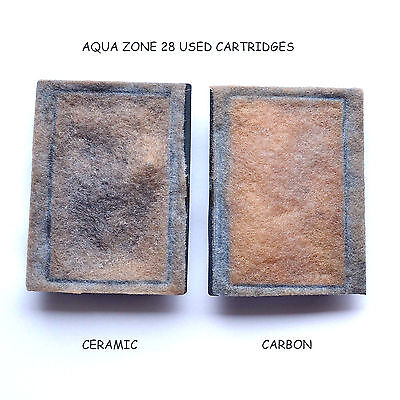 5 X Bj Filters Compatible Aqua Zone 28 - Carbon / Ceramic Kits  6 Months Supply 7