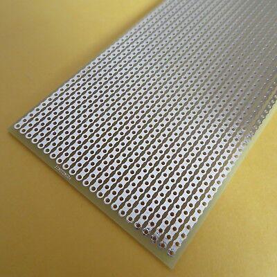 3x pcb 5x10cm Streifenraste Lochraster Platine Leiterplatte stripboard pcb vero