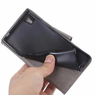 Handy Tasche für Samsung Galaxy Schutz Hülle Blumen Flip Case Wallet Etui Schale