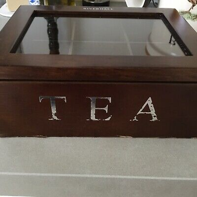 Riverdale. Caja De Te De Madera. Tea Box 6