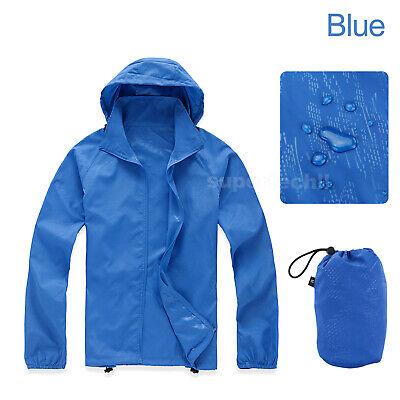 Unisex Cycling Running Hiking Bike Waterproof Windproof Jacket Outdoor Rain Coat 2
