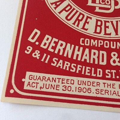 Lot of 3 Antique QUACK MEDICINE Bottle Labels SARSAPARILLA For the Blood BOSTON 3
