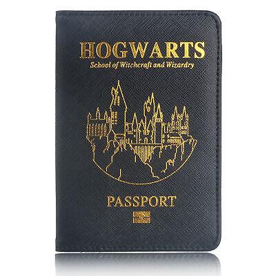 The Avenger Wakanda Hydra Hogwarts Passport Cover RFID Blocking Credit Card Case 12