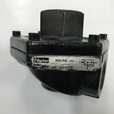 Parker  0R75FB Pneumatic Quick Exhaust Valve    3/4 in. 3