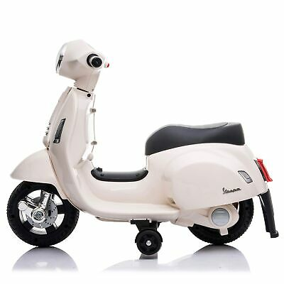 Licensed Vespa GTS 6V Ride On Scooter with Stabilisers Green Toys ...