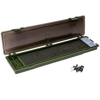 Angelbox Tackle Vorfachbox LION Angel Vorfach Rig Box mit Magnet Verschluss