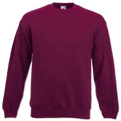 Fruit of the Loom Sweatshirt Set-In Herren Pullover Pulli Gr. S M L XL 2XL 3XL 3