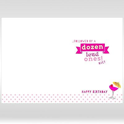 1 Of 2FREE Shipping 50TH FEMALE Birthday Greetings Card