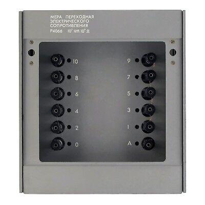 0-1 GOhm 0.0005% P4066 Decade Resistance Standard Box Resistor an-g L&N ESI IET 2