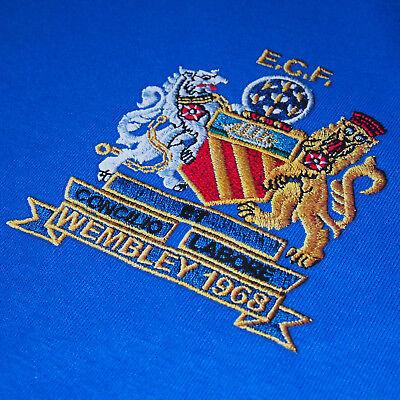 Football Legends Best & Charlton in Manchester United 1968 Retro Kit T-Shirt 2