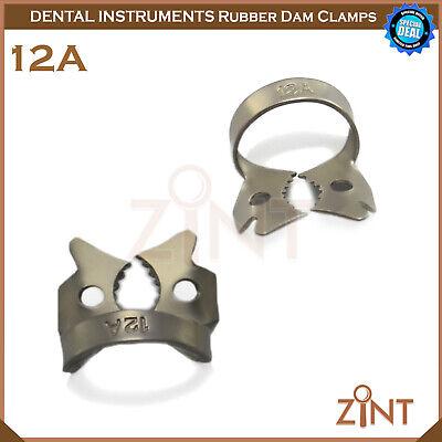 Rubber Dam Universal Clamps Upper & Lower Premolar Anterior Medesy Basic Set New 6