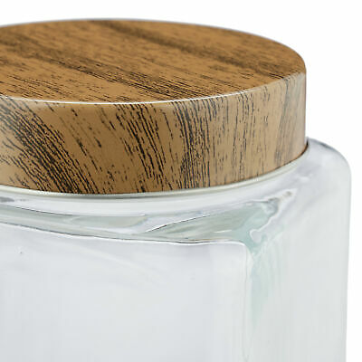 8 x Vorratsglas Glasbehälter Mehlbehälter Nudelaufbewahrung Müsliglas Glasdose
