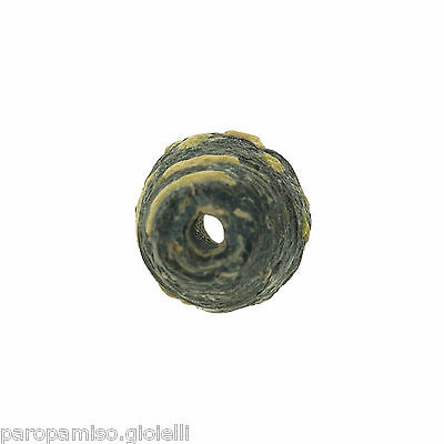 Early Islamic Glass Bead  -  DAMAGED  -  (0999) 5