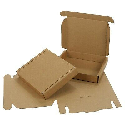 Small Royal Mail Large Letter Cardboard Postal Pizza Style Mailing Folding Boxes 7