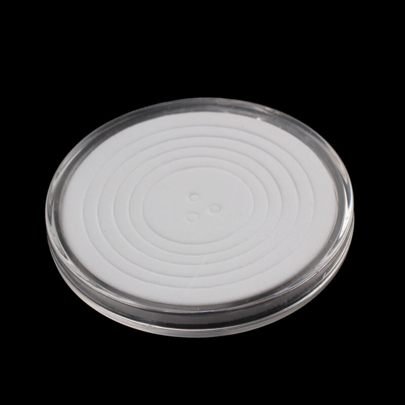 30 Pcs Coin Storage Box Clear Plastic Round Cases Capsules Holder Applied 46mm 6