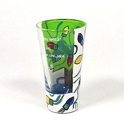 1 of 10 lolita christmas tree water 2oz shot glass recipe light strand holiday rare htf