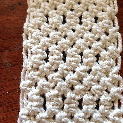 1.5mm-2mm Natural Cream Cotton Rope - macrame/pot hanger/loom/weave/boho/wallart 4