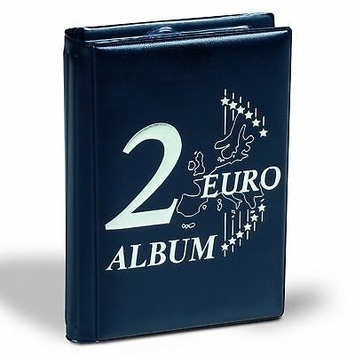 Blue Coin Wallet Pocket Coin Mini Album For Coin Collection Leuchtturm 314775