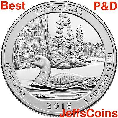 2019 P D Lowell National Historical Park Quarter Mass MA PD U S Mint ATB Best 2 4