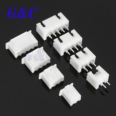 40 Sets JST 2~5Pin 2.5mm XH Male Female Housing Connector with Crimps Kit 7