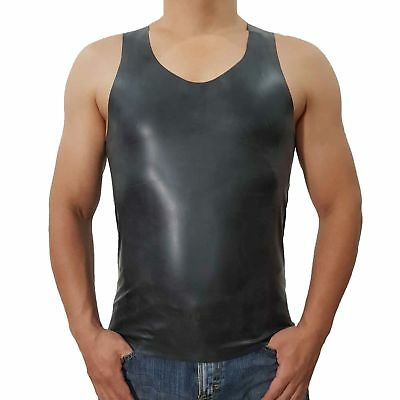 Latex Hemd aus Rubber in der Farbe schwarz, neu original verpackt, Einheitsgröße