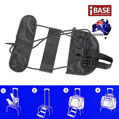 Travel Luggage Suitcase Adjustable Tape Belt Add A Bag Strap Carry On Bungee 2