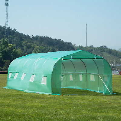 20'x10'x7' Larger Hot Green House Walk-In Greenhouse Plant Outdoor Gardening 3