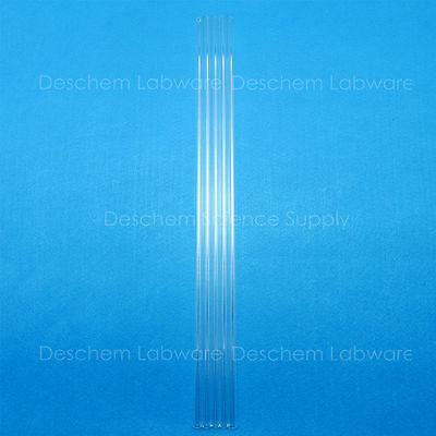 5PCS 300mm,Quartz Glass Tube,OD=12mm,Thcik=1.0mm,ID=10MM,Made BY Fused Silica 6