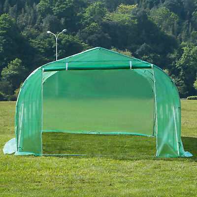 20'x10'x7' Larger Hot Green House Walk-In Greenhouse Plant Outdoor Gardening 5