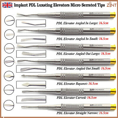 PDL Luxation Root Extraction Oral Surgery Dental Elevators Periodontist Lab Tool 2