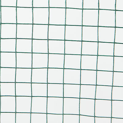 Green PVC Coated Chicken Wire Mesh 30M Fencing Garden Barrier Metal Fence 4