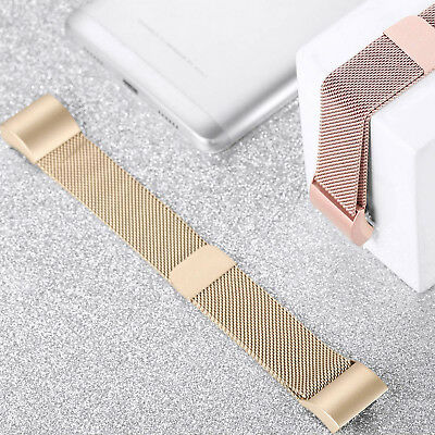 For Fitbit Charge2 Replacement Strap Milanese Band Metal Stainless Steel Magnet 8