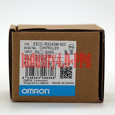 1PC OMRON Temperature Controller E5CC-RX2ASM-800 100-240VAC New in box#XR 2