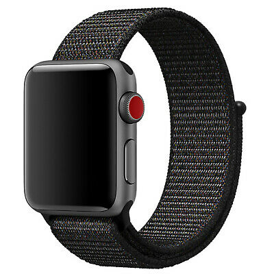 Nylon Woven Sport Loop Band Strap For Apple Watch iWatch Series 4/3/2/1 38/42mm 6