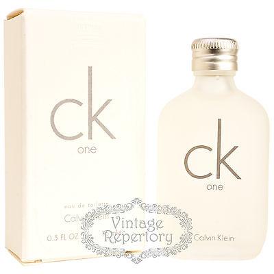 d4713e9a4044d 5 of 11 Calvin Klein Ck one Eau De Toilette Mini Perfume Parfum Men Fragrance  15ml 0.5oz