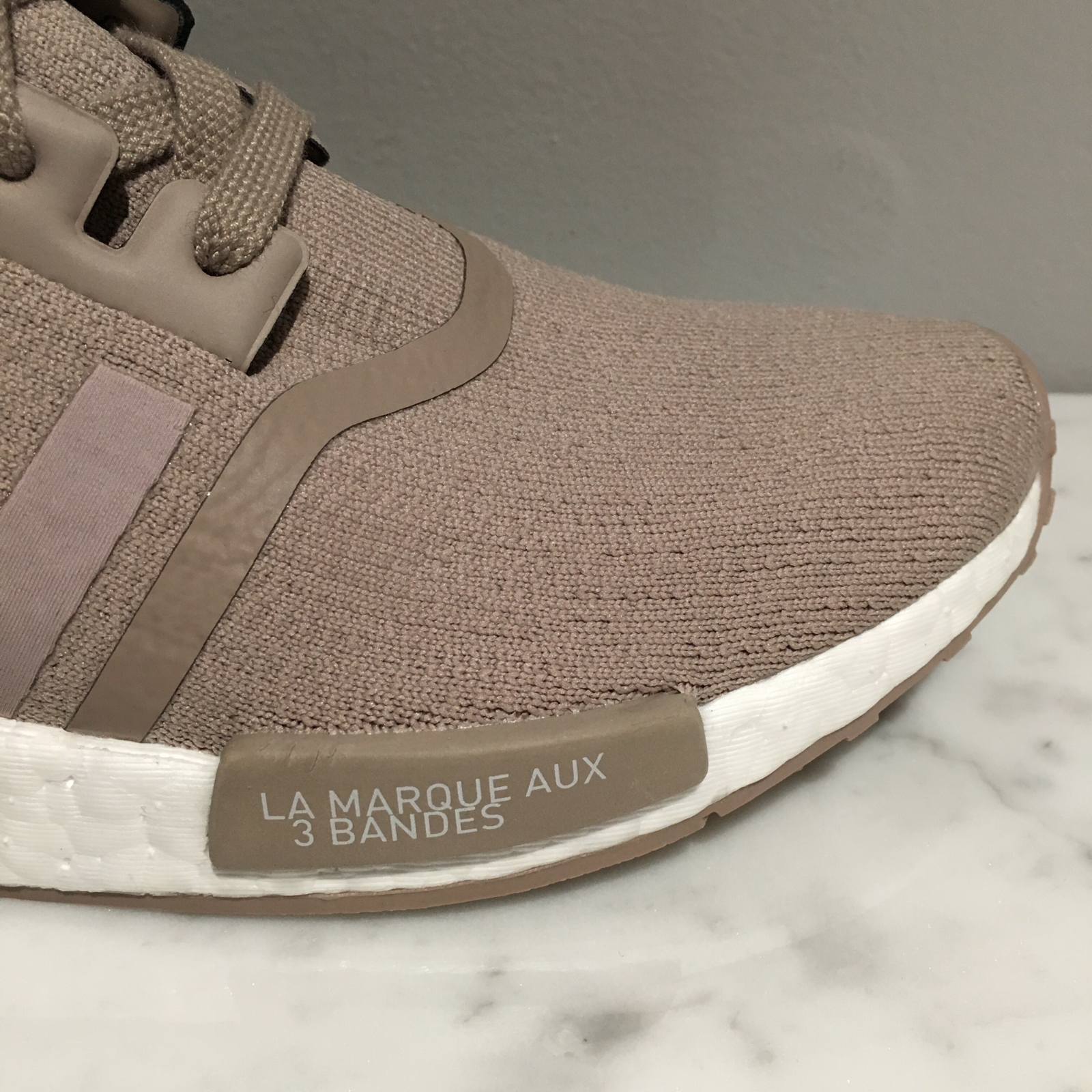 474a35f986e8 Adidas Nmd R1 Pk  french Beige  - S81848 - Vapour Grey Primeknit 3 3 of 5  ...