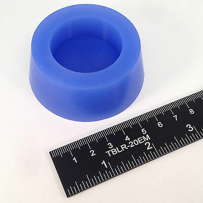 "(1) 2.281"" x 2.687"" #13 High Temp Silicone Rubber Powder Coating Plugs Cerakote 2"