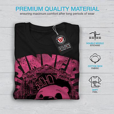 Wellcoda Panda Glasses Sky Mens T-shirt Sunset Graphic Design Printed Tee